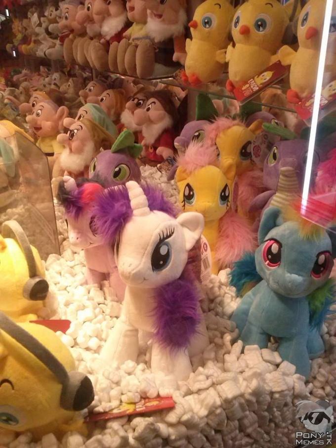 Plushie ponies