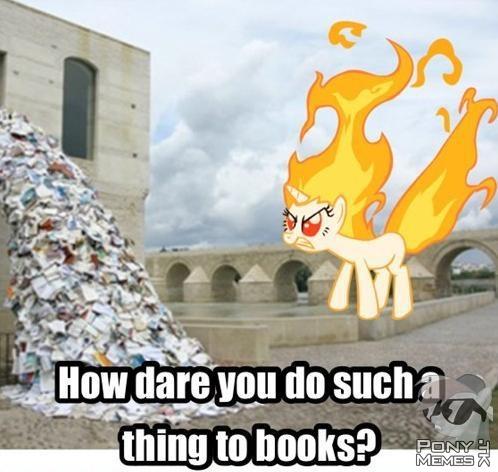 Jak można zrobić to książkom?!