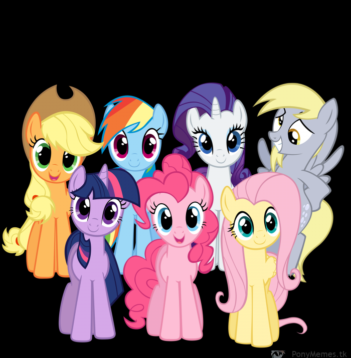 Derpy Hooves and Ponies