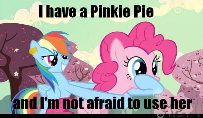 Denerwująca Pinkie
