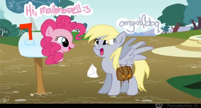Derpy i Pinkie