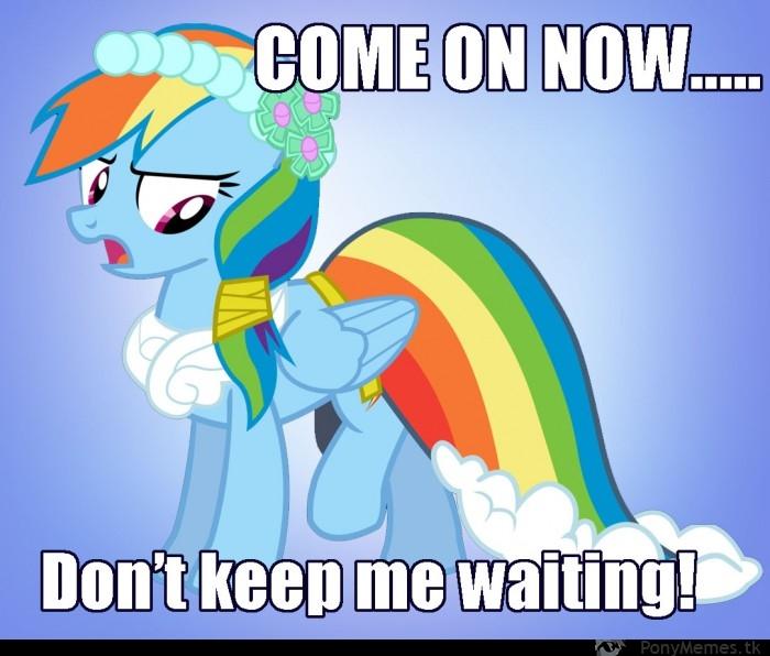 Nie pozwól jej czekać!