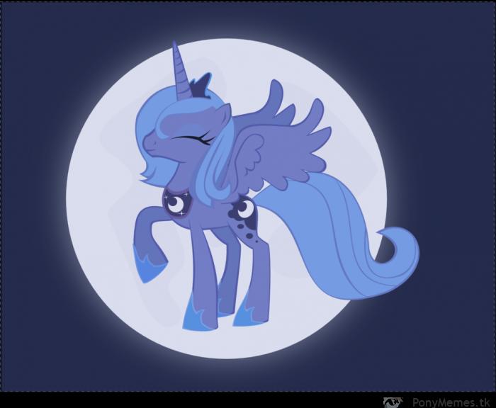 Luna władczyni księżyca