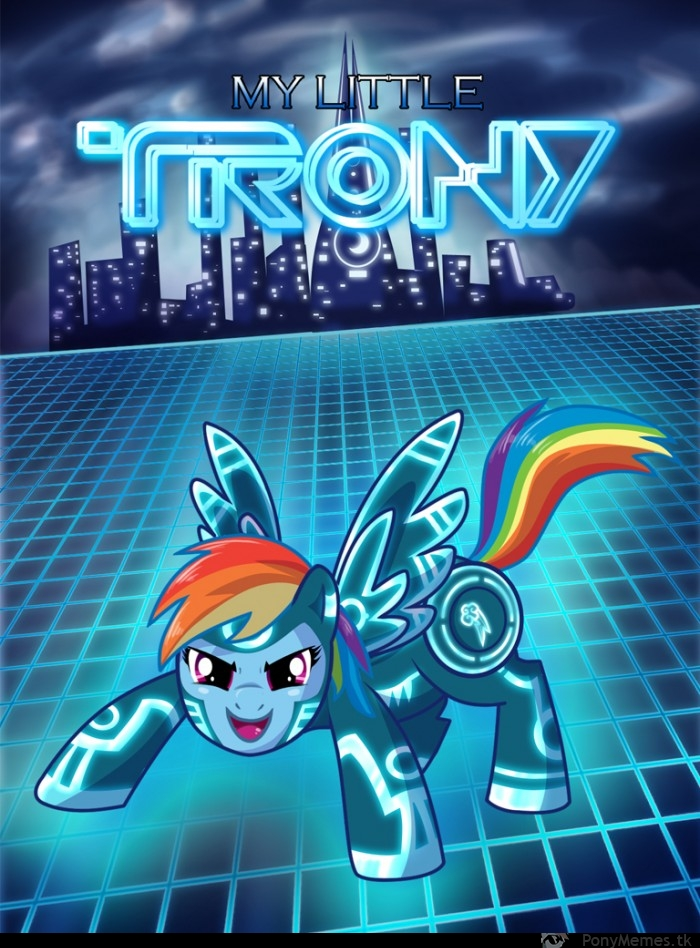 Tron Pony
