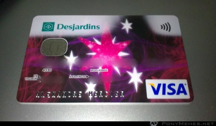 Kucykowa karta płatnicza