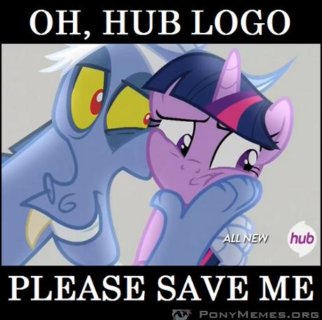Hub logo, ratuj!