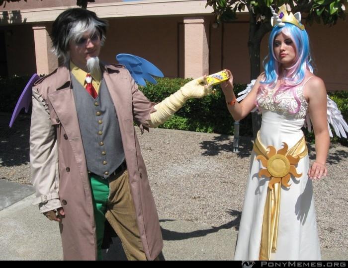 Celestia i Discord (cosplay)
