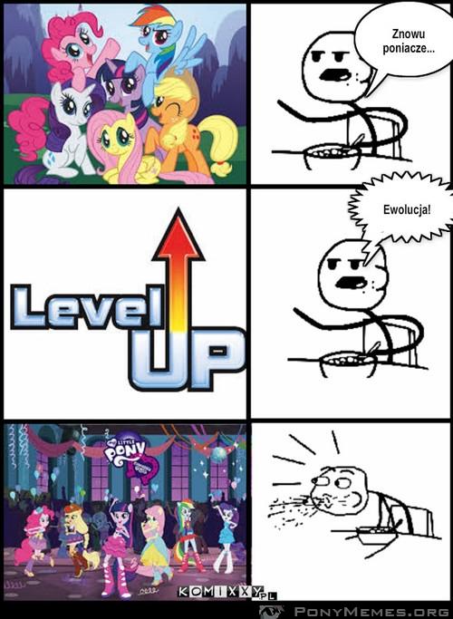 Ewolucja MLP