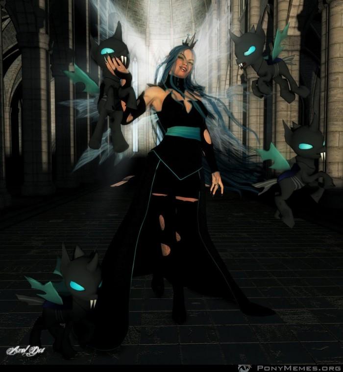 Chrysalis - doskonały cosplay