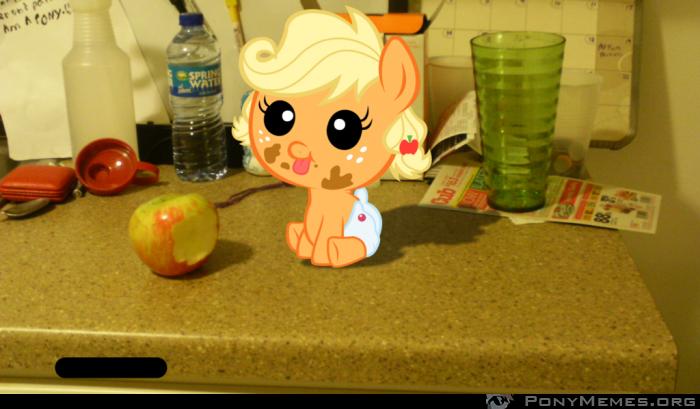 Słodziutka mała Applejack