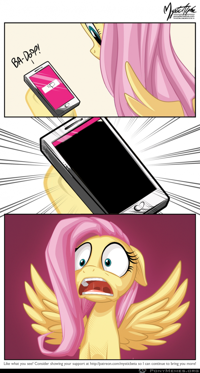 Fluttershy and sms