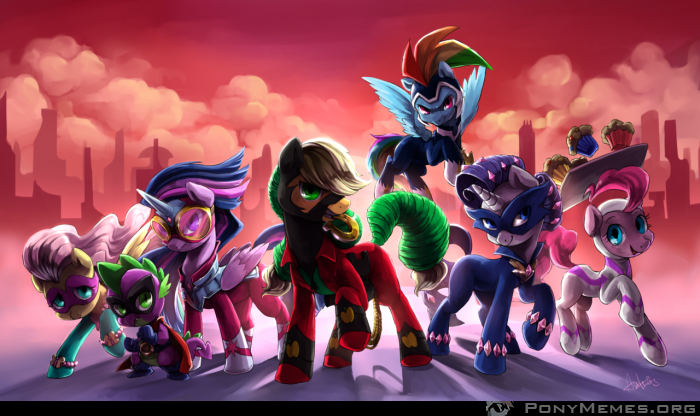 Superkucyki (Power Ponies)