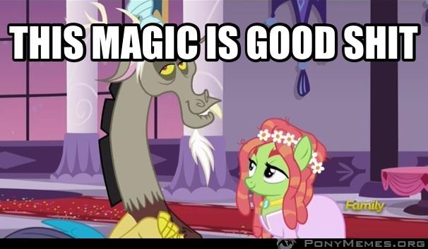 Ta magia to dobre gówno...