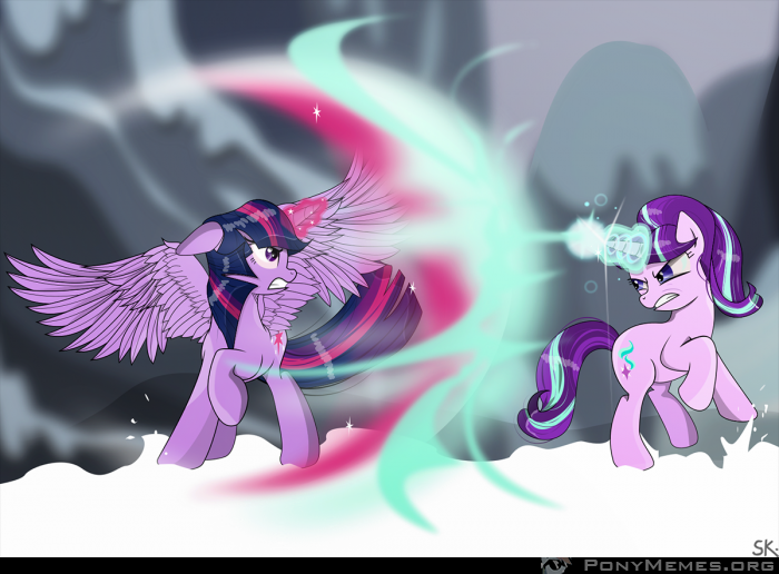 Twilight Sparkle kontra Starlight Glimmer