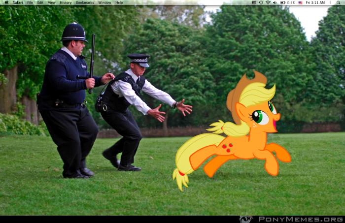 Uciekaj Applejack