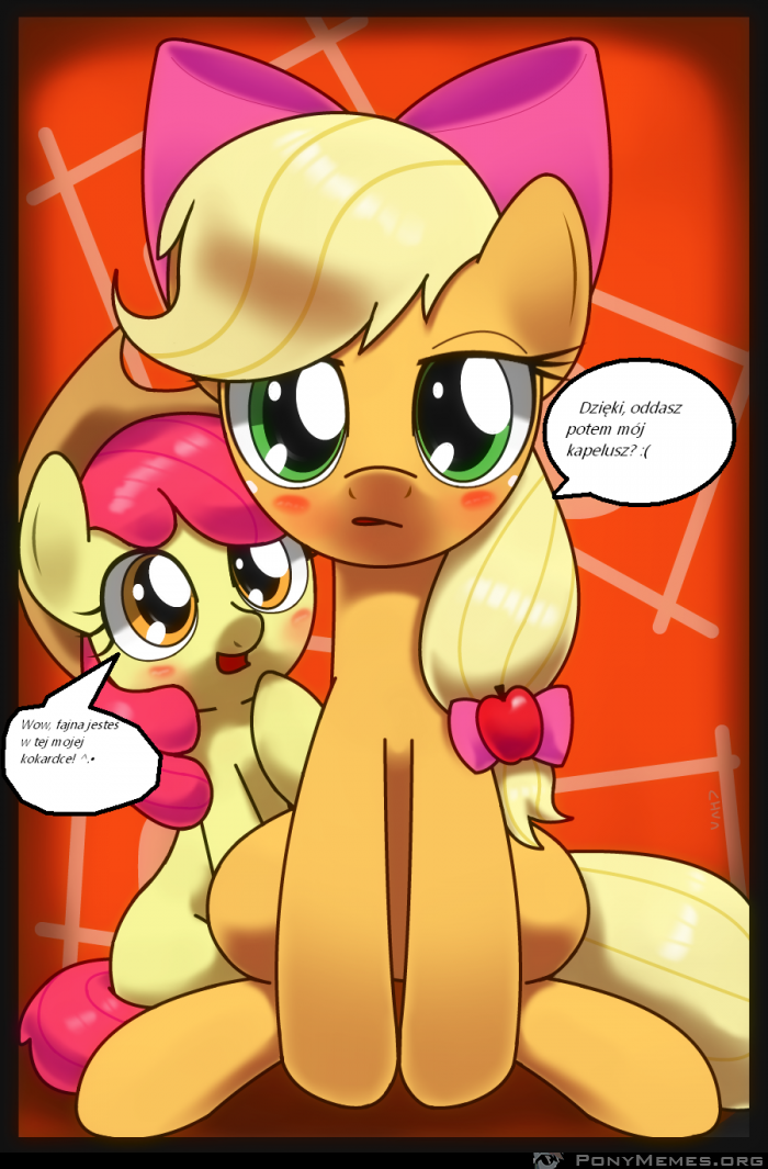 Applejack and Applebloom