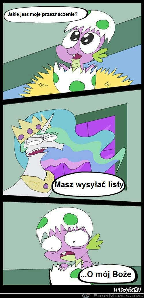 Spike - murzynę