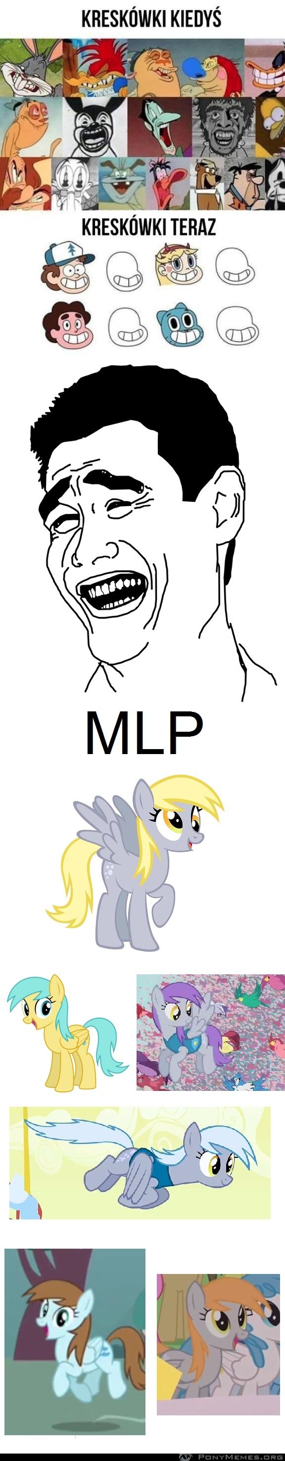 Kreskówki i MLP