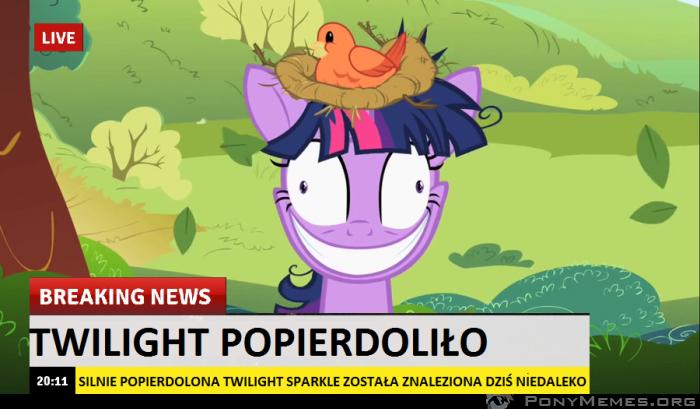 Twilight Popierdoliło