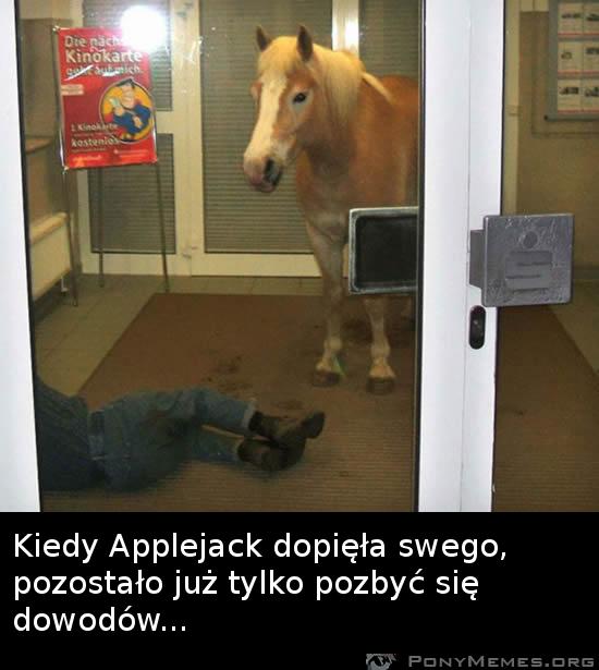 konia nikt nie będzie podejrzewał