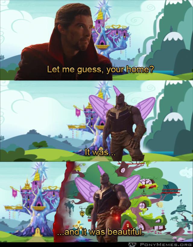 It was beautiful