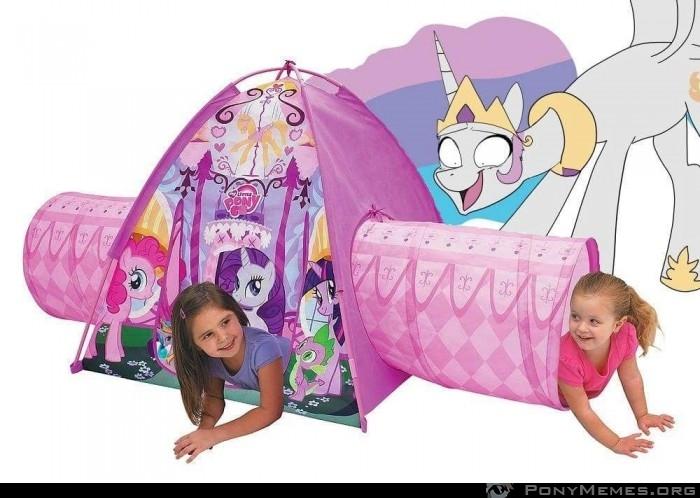 Zły namiot zabaw