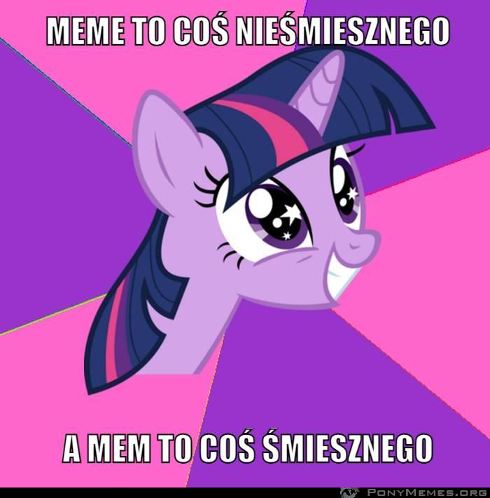 Czemu meme a nie mem